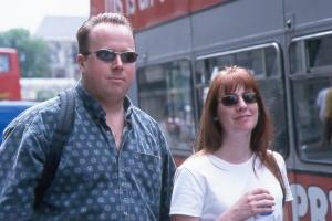 Brad and Angela -  London