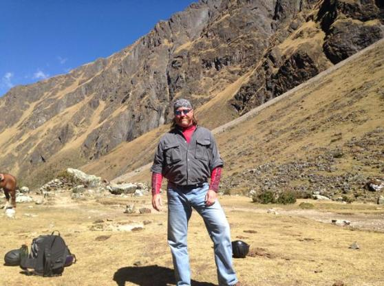 Brad Wright, Salkantay Peru 2014